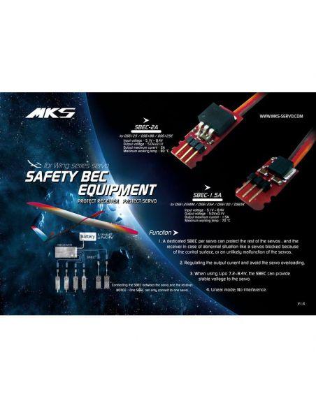 Werbung MKS SBEC 2A 5V