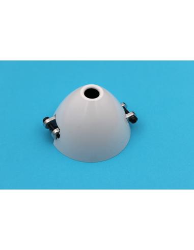 CFK-Spezialspinner 60mm versetzt mit Kühlloch 0° Verdrehung