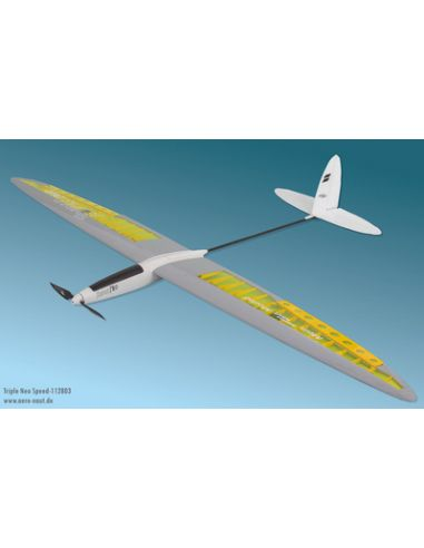 Aero Naut Triple Neo Speed Holzbausatz, AE112803, Modellbau , Holz