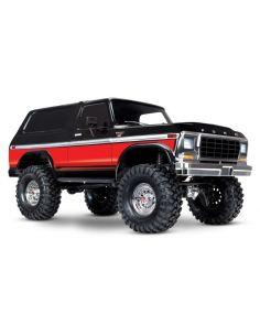 TRX-4  Ford Bronco 4x4 rot-schwarz ohne Akku, ohne Ladegerät