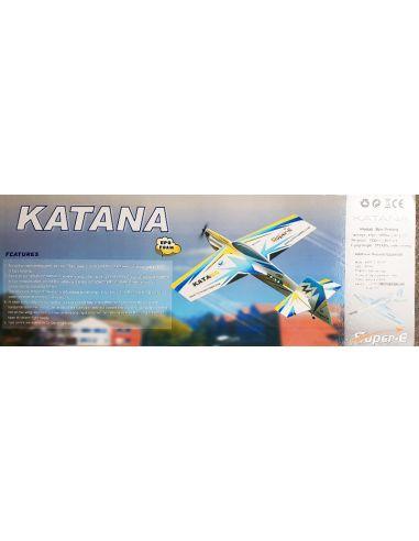Katana blau + Motor
