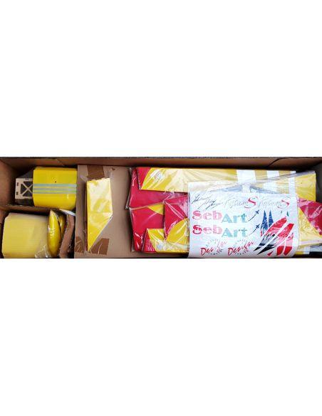 Katana  50E ARF gelb/schwarz V1