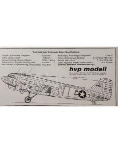 Douglas Dakota DC 3 HVP Modell