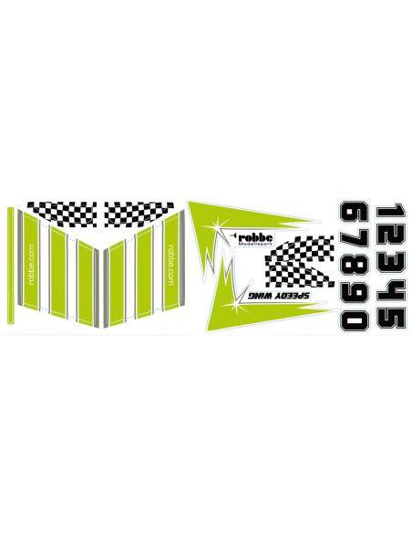 ROBBE Speedy Wing BK grün, Dekor