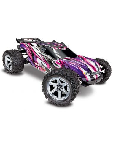 TRX Rustler 4x4 VXL Pink ohne Akku/Lader, 67076