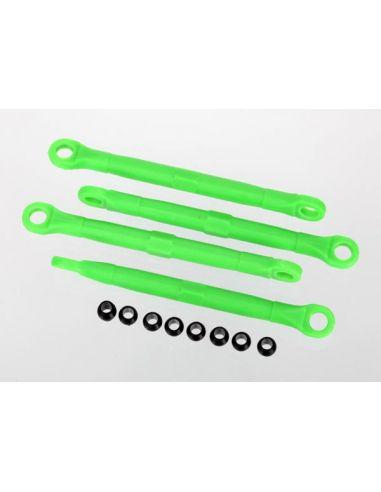 Spurstangen (v/h) grün 1:16 Slash TRX 7038A