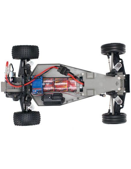 TRAXXAS Bandit BlauX Brushed mit AKKU/12V Lader 1/10 2WD, 24054-1ROTX