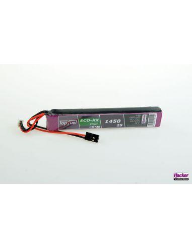 Hacker Top Fuel ECO-X 20C 2S 1450mAh Slim-MTAG, 91450226