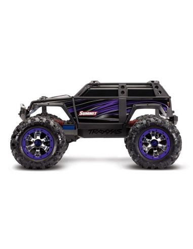 TRAXXAS Summit Purple RTR EVX2 4x4 Crawler Truck ohne Akku/Lader, 56076-4