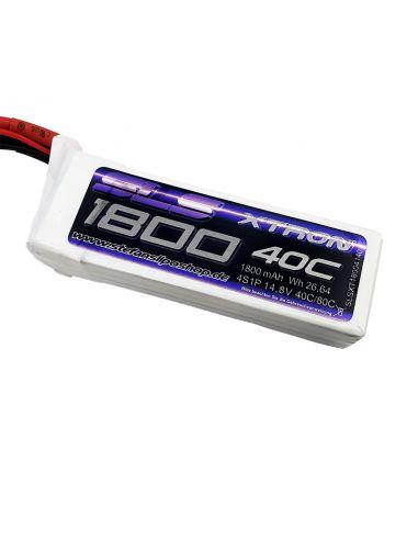 SLS XTRON 1800mAh 4S 14,8V 40C+80C