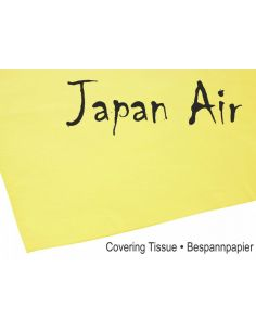 JAPAN AIR Bespannpapier 16g gelb 500 x 690 mm (10 Stk.), C9374