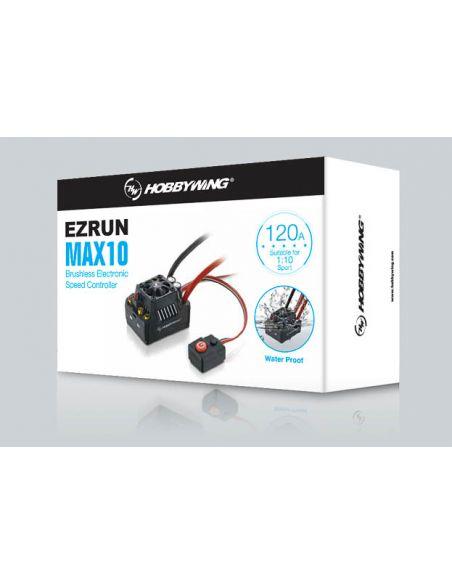 Verpackung Hobbywing Ezrun MAX10 SCT Regler Sensorless 120 Amp