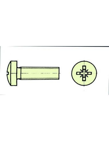 Nylon Zylinderkopfschrauben Kreuz M5x60 (10Stk.), X0650