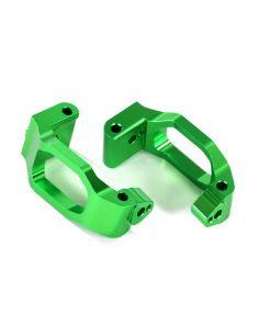 Caster-Blocks Alu grün (C-Hubs) L/R TRX 8932G Maxx®