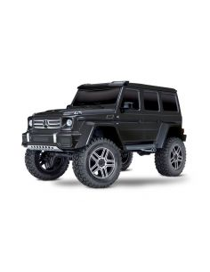 Traxxas TRX 4 Mercedes G 4x4² Schwarz 1/10 RTR ohne Lader/Akku 4WD Scale Crawler, 82096-4BLK