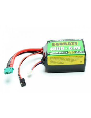LiFe Akku EGOBATT 4000 - 6.6V (25C)C 8381