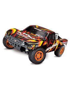 TRX Slash Brushed 4x4 Orange/Rot mit Akku/Lader 12V, 68054-1
