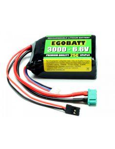 LiFe Akku EGOBATT 3000 - 6.6V (25C) C8354