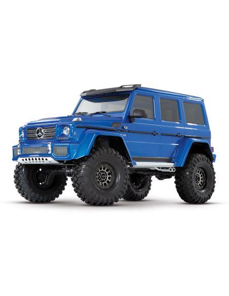Traxxas TRX 4 Mercedes G 4x4² Blau 1/10 RTR ohne Lader/Akku 4WD Scale Crawler