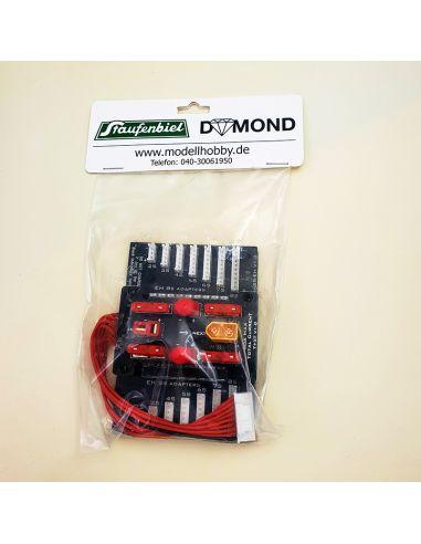 Dymond 2x 8S Adapter, Staufenbiel