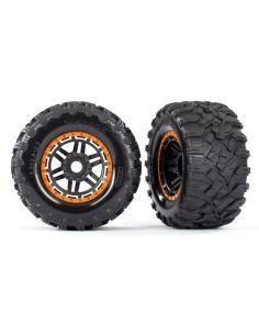 Traxxas Reifen 2Stk. TRX 8972T orange/schwarz all Terrain
