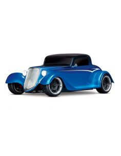 TRAXXAS 4Tec 3.0 Factory Five 35 HotRod-Coupe blau RTR 1/9 AWD Tourenwagen Brushed XL-5 ohne Akku/Lader, TRX93044-4BLUE