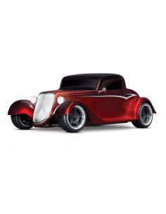 TRAXXAS 4Tec 3.0 Factory Five 35 HotRod-Coupe rot RTR 1/9 AWD Tourenwagen Brushed XL-5 ohne Akku/Lader, TRX93044-4RED