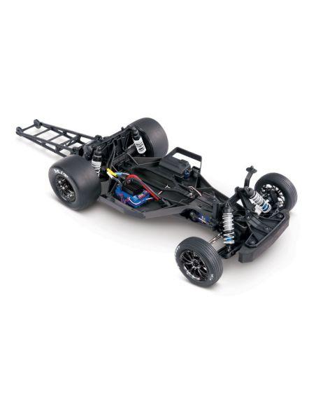 TRAXXAS Drag Slash weiß RTR o. Akku/Lader 3Kanal-Sender 1/10 2WD Drag-Racer Brushless, TRX94076-4WHT