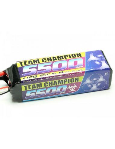 LiPo Team Champion 5500 - 14,8V,  4S Lipo, C4845