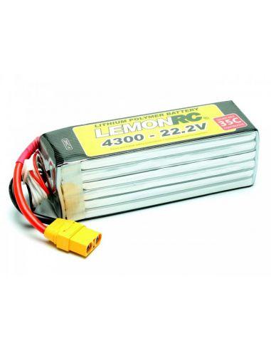 Lemon RC 6S 4300 mAh 35C 22,2V, C9483