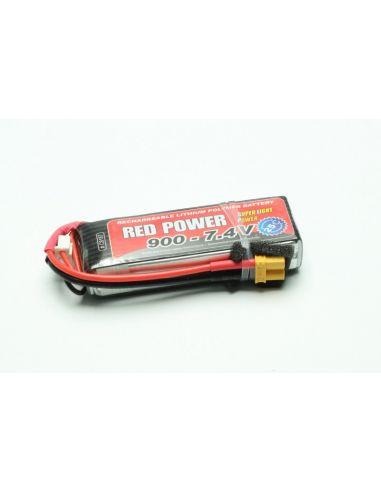 Red Power 2S 900 mAh 25C (50C), C8187