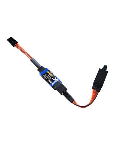 Hepf Voltario S30 Telemetrie Stromüberwachung eines Servos